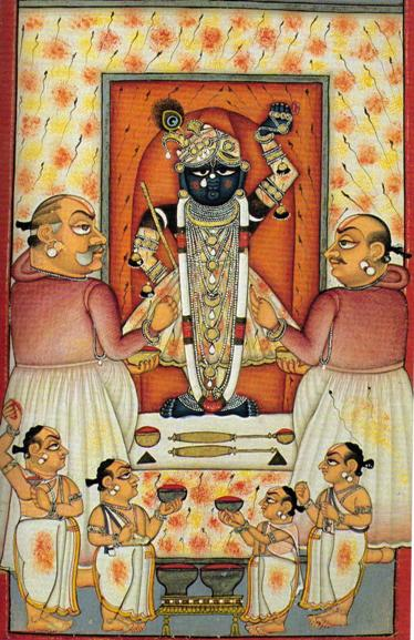 Lord Shreenathji Holi Darshan Pictures for free download